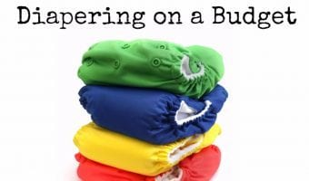 How To Start Cloth Diapering on a Budget