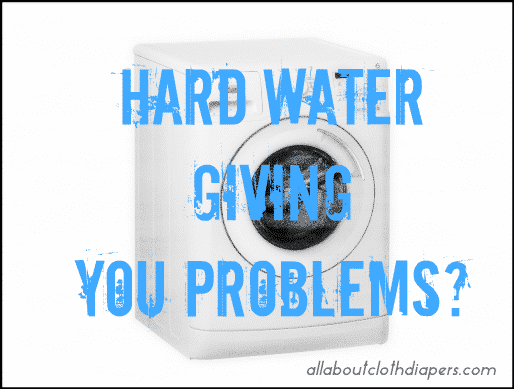 Cleaning Your Diapers the HARD Way!? With Hard Water that is!