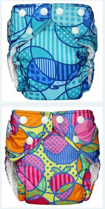 Fuzzi Bunz One Size A Cloth Diaper For a Newborn and Toddler
