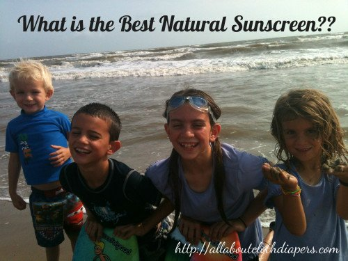 What is the Best Natural Sunscreen for Your Family