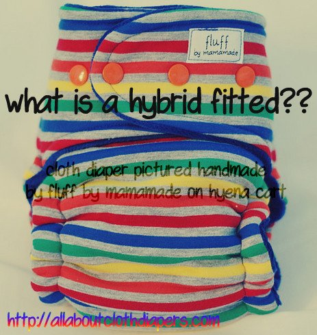 What Is A Hybrid Fitted Cloth Diaper?