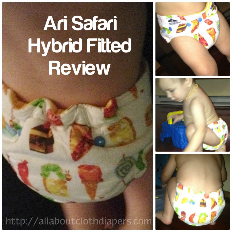 Ari Safari Fitted Cloth Diaper Review