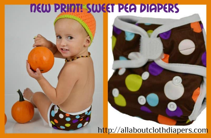 Sweet Pea Diaper Reveals NEW Prints!