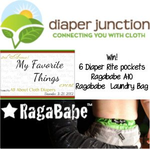 Ragababe and Diaper Rite Pockets Giveaway