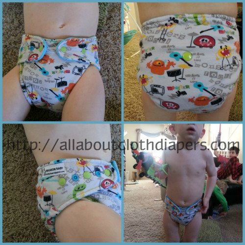 Macaroni Baby Cloth Diaper Review