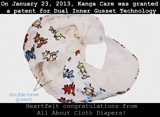 Dual Inner Gusset Patent Granted to Kanga Care