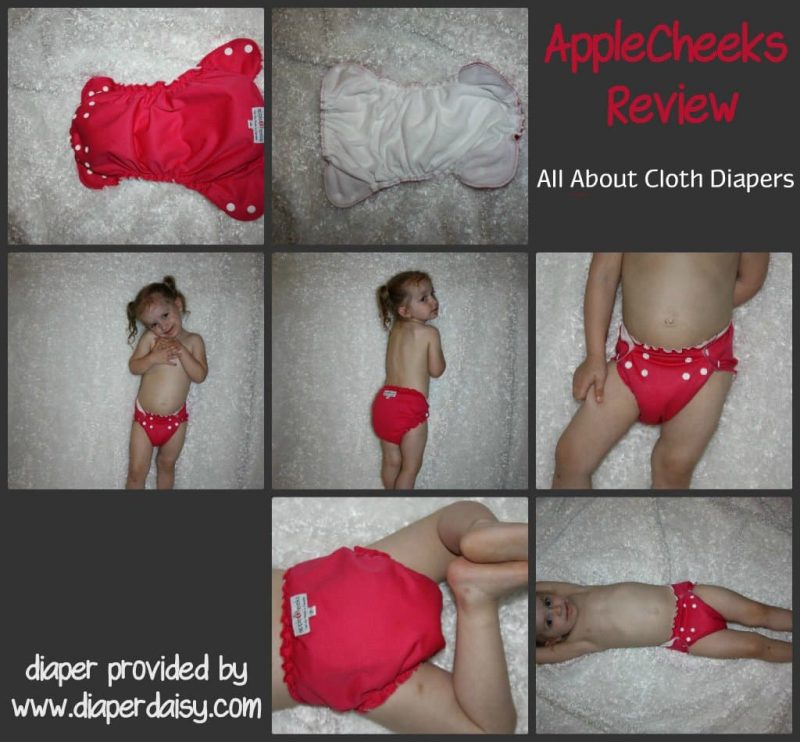 AppleCheeks Cloth Diaper Review