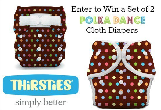 Win the New Thirsties Polka Dance Print!