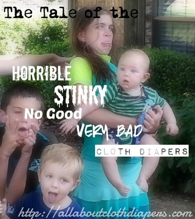 The Horrible, Stinky, No Good, Very Bad Diapers
