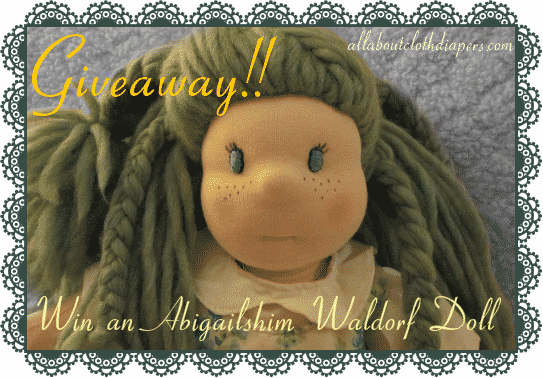 Abigailshim Dolls Waldorf Doll Giveaway! $165 value!!