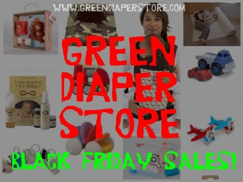 Support Small Business on Black Friday! Green Diaper Store Sales