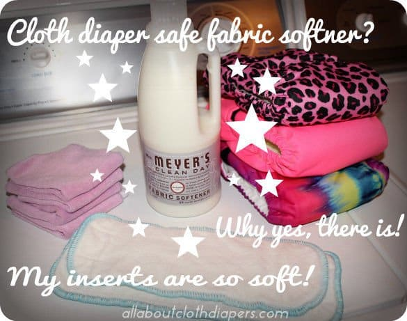 Cloth Diaper Safe Fabric Softener? Why yes… there is!