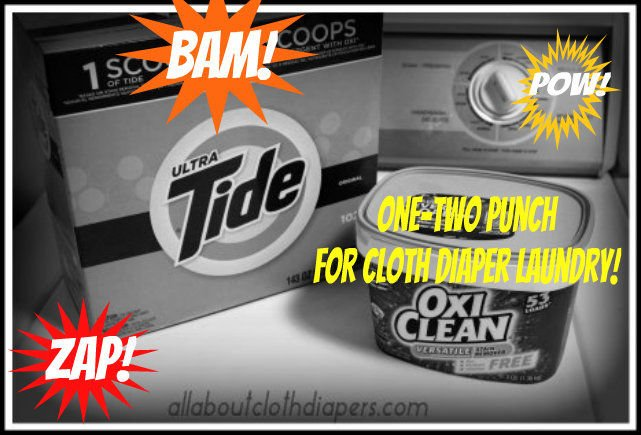 I'm not afraid to say I use Tide and OxiClean