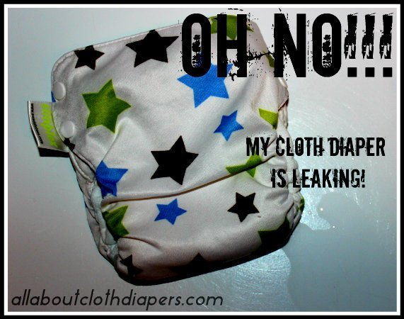 Why oh why are my diapers leaking?!? You'll be surprised, there might be a simple solution!