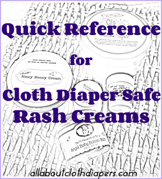 Cloth Diaper Safe Diaper Rash Creams UPDATED AGAIN!