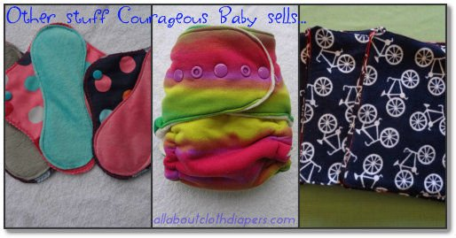 Love Me Some WAHM Cloth Diapers! Review of Courageous Baby