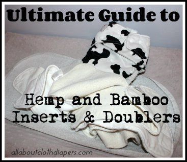 Ultimate Guide to Hemp and Bamboo Inserts & Doublers, Cloth Diaper's Best Friends