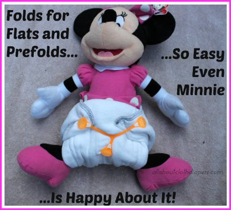 A Collection of Easy Ways to Fold Cloth Diaper Flats and