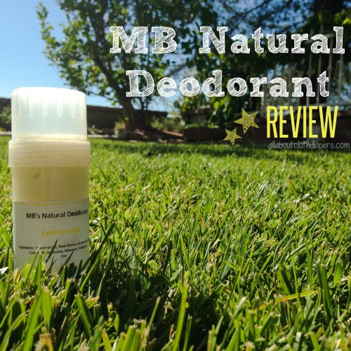 Stinky, Sweaty Pits? Read this! Review of MB Natural Deodorant