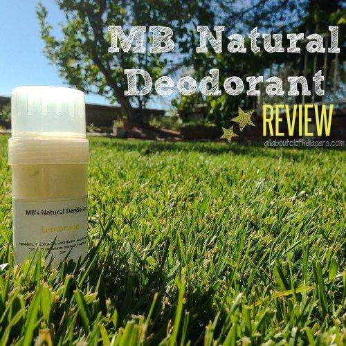 MB Natural Deodorant