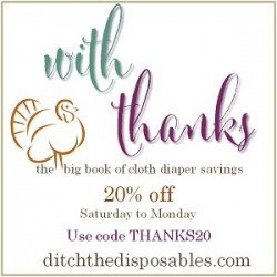 Savings Galore! Check Out The Big Book Of Cloth Diaper Savings