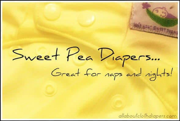 Sweet Pea Covers are my FAVORITE Nap & Nighttime Cloth Diaper Cover