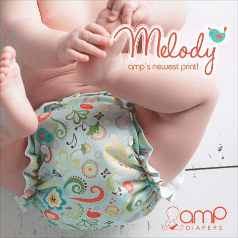 AMP Cloth Diapers Has the Cutest New Prints! {giveaway}