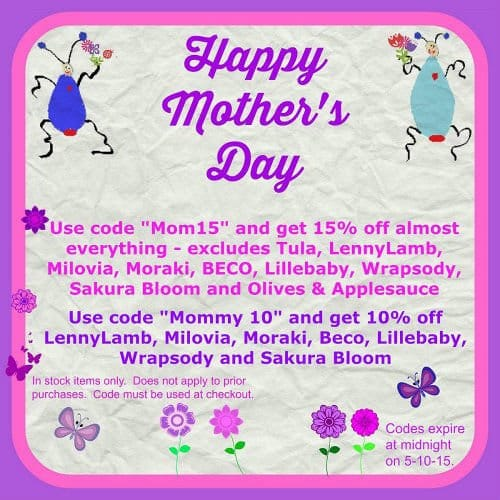 Mother's Day Sales 2015