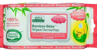 aleva bamboo baby wipes
