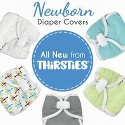 Thirsties Cloth Diapers are now even MORE fabulous and they're celebrating with a GIVEAWAY