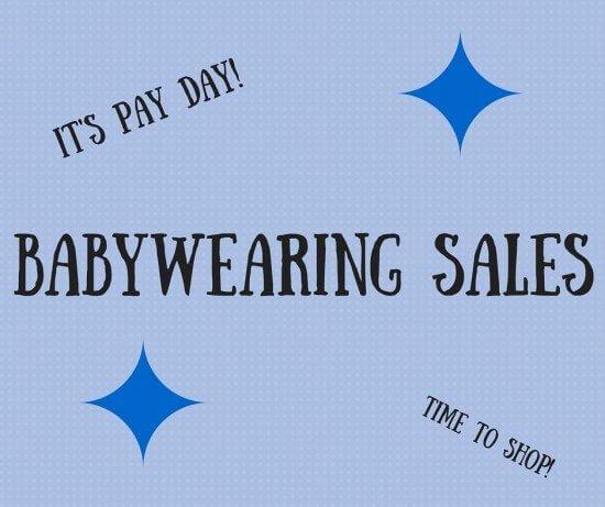 Babywearing Sales