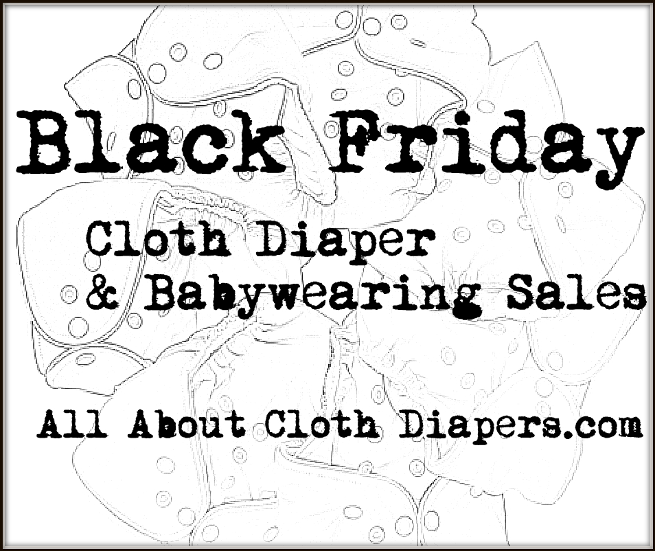 Black Friday Cloth Diaper Sales