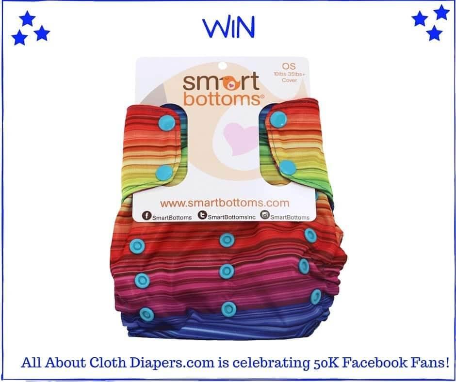 Smart Bottoms Rainbow Love Cloth Diaper Giveaway!