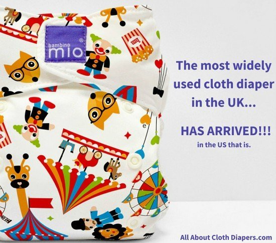 The most popular Cloth Diaper in the UK is coming to America! Bambino Mio!