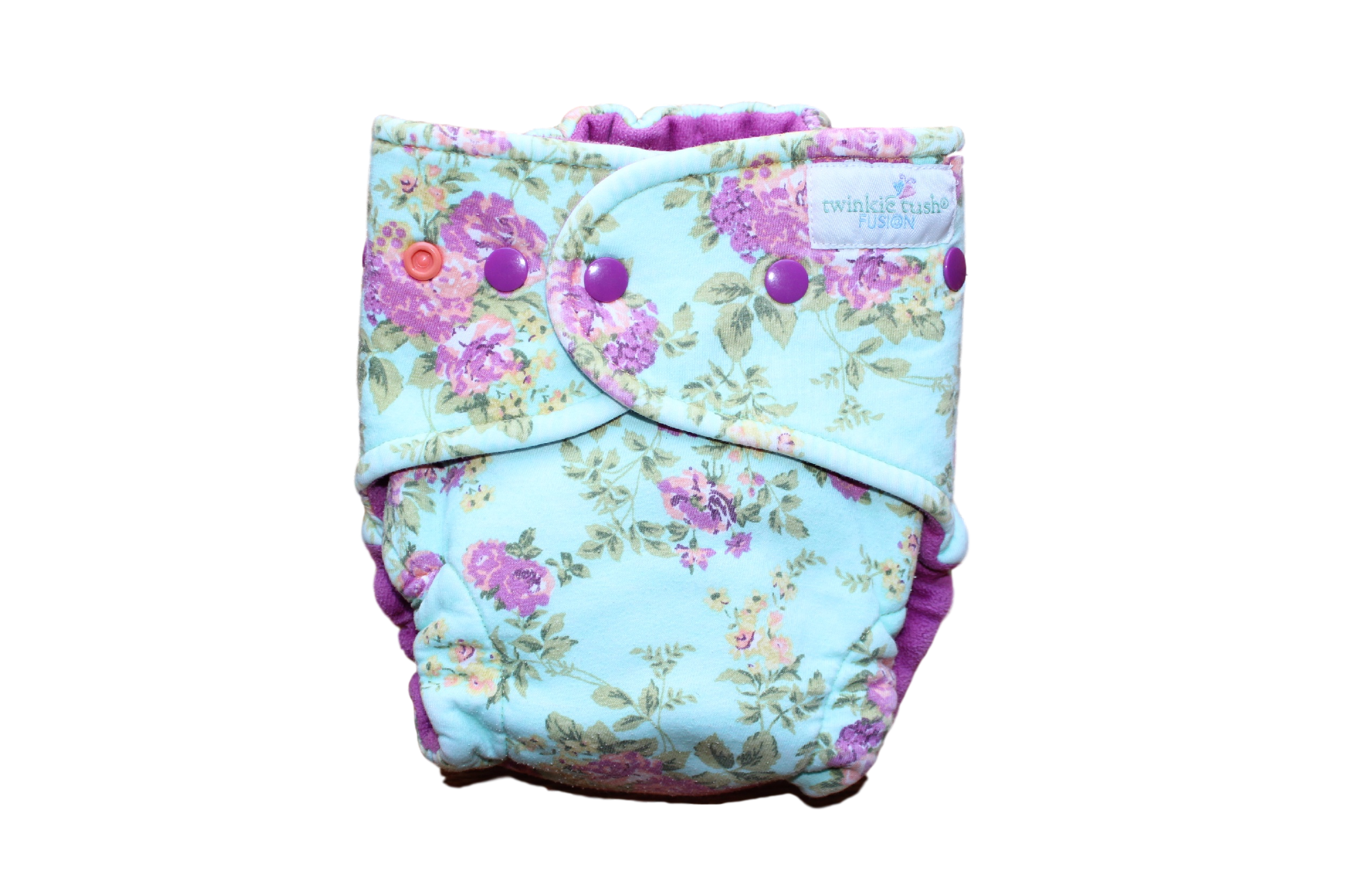 Fold Down Rise Cloth Diapers