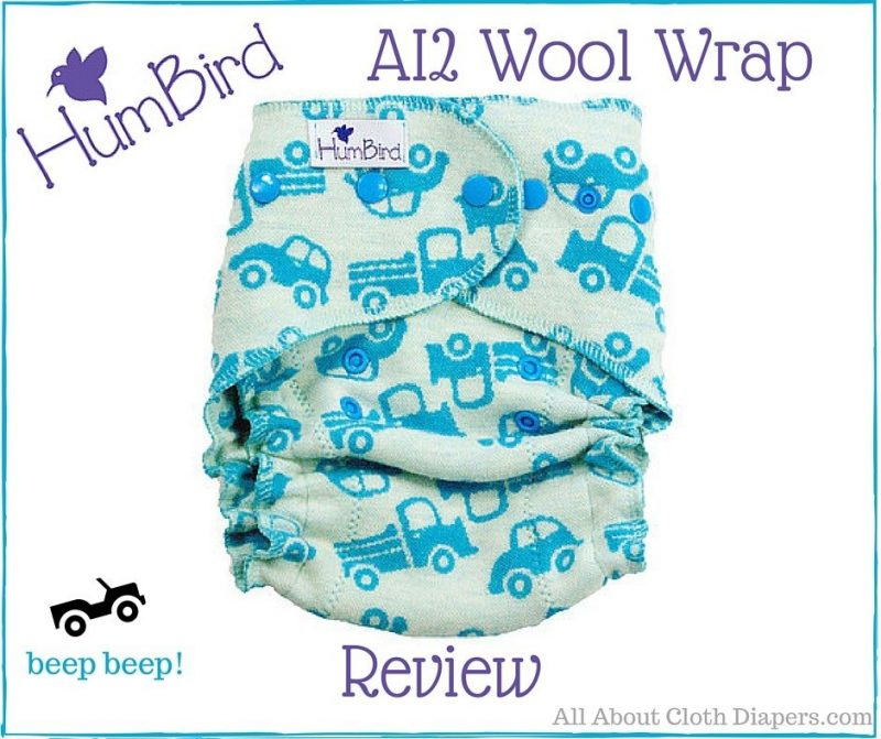 Heavy Wetters Rejoice! Check out the HumBird AI2 Wool Wrap Diaper