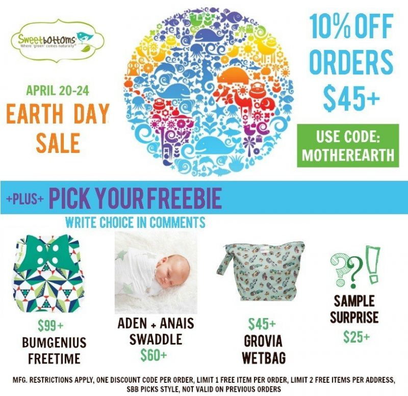 Earth Day Sale 2016 with Freebies