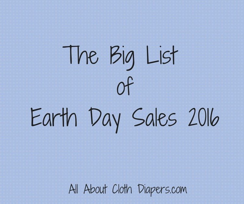 The Big List ofEarth Day Sales 2016
