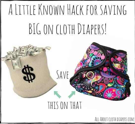 A Little Known Hack for Saving BIG on Cloth Diapers