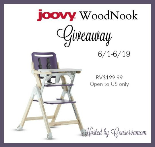Win a joovy WoodNook High Chair!