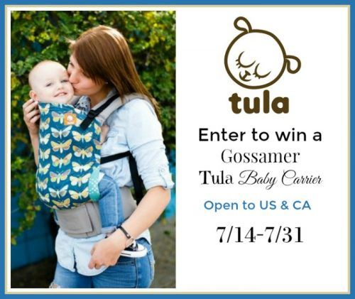 Win a Tula Baby Carrier in Gossamer!