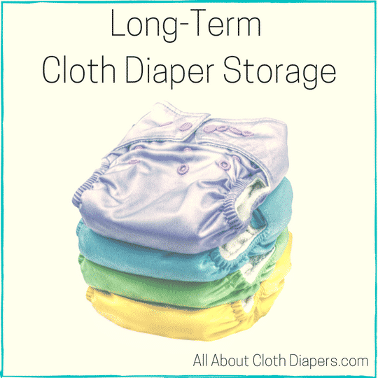 Long Term Cloth Diaper Storage