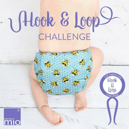 Win the Ultimate Stash from Bambino Mio! Take the Hook & Loop Challenge!