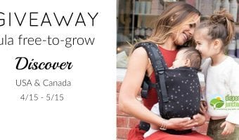 Win a Tula Free-to-Grow in Discover!