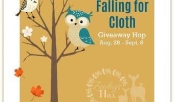Falling for Cloth Giveaway Hop! Three winners!