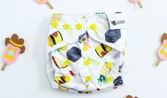 Hand Drawn Prints from Designer Bums Cloth Diapers…Wow!