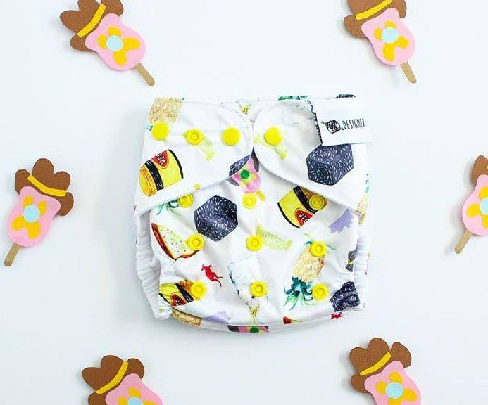 Hand Drawn Prints From Designer Bums Cloth Diapers Wow