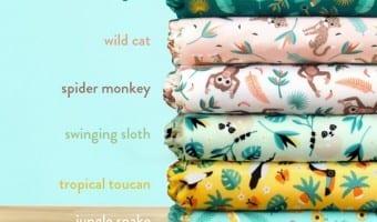 Bambino Mio launches their Rainforest Collection!