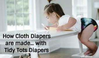 How Cloth Diapers are made…with Tidy Tots Diapers