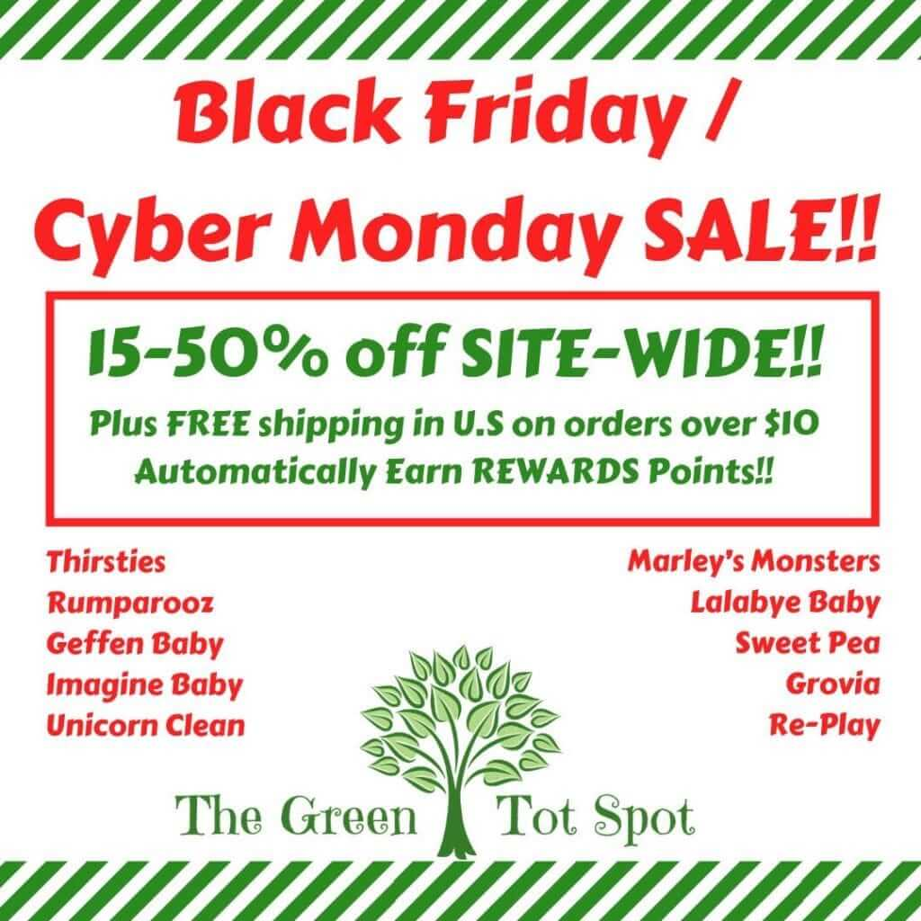 56af5dd27 FREE shipping within U.S. on orders over $10 PLUS: Receive a $10 e-gift  card to The Green Tot Spot on orders over $150 OR Receive a $15 e-gift card  to The ...